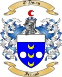 O'Dolan Family Coat of Arms from Ireland