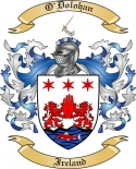 O'Dolohan Family Crest from Ireland