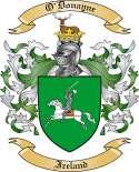O'Donayne Family Coat of Arms from Ireland