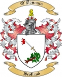 O'Donnain Family Crest from Scotland