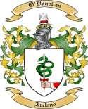 O'Donovan Family Coat of Arms from Ireland