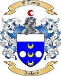 O'Dooley Family Crest from Ireland