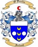 O'Doolin Family Crest from Ireland