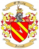 O'Dooly Family Crest from Ireland