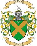 O'Dowd Family Coat of Arms from Ireland