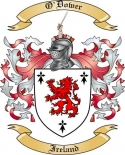 O'Dower Family Crest from Ireland