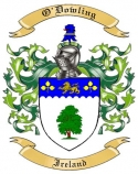 O'Dowling Family Coat of Arms from Ireland