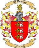 O'Downey Family Crest from Ireland