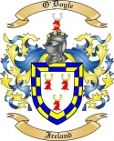 O'Doyle Family Coat of Arms from Ireland