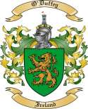 O'Duffey Family Coat of Arms from Ireland