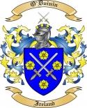 O'Duinin Family Crest from Ireland