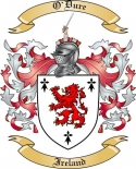 O'Dure Family Crest from Ireland