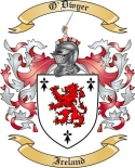 O'Dwyer Family Crest from Ireland
