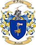 O'Fahey Family Coat of Arms from Ireland