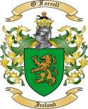 O'Farrell Family Coat of Arms from Ireland2