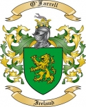 O'Farrell Family Coat of Arms from Ireland