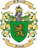 O'Ferrall Family Crest from Ireland2