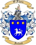 O'Flynn Family Crest from Ireland