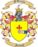 O'Granie Family Crest from Ireland