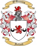 O'Greaney Family Crest from Ireland2