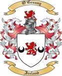 O'Greany Family Coat of Arms from Ireland2
