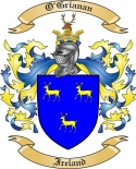 O'Grianan Family Coat of Arms from Ireland
