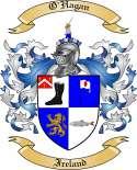 O'Hagan Family Crest from Ireland