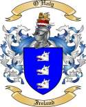 O'Haly Family Coat of Arms from Ireland