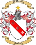 O'Hanfey Family Crest from Ireland