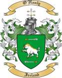O'Hanly Family Coat of Arms from Ireland