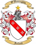 O'Hanraghty Family Crest from Ireland