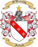 O'Hanratty Family Crest from Ireland
