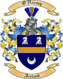 O'Harney Family Coat of Arms from Ireland