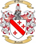 O'Hart Family Crest from Ireland