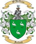 O'Heffron Family Crest from Ireland