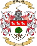 O'Hegarty Family Crest from Ireland