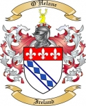 O'Helane Family Crest from Ireland