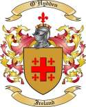 O'Hydden Family Coat of Arms from Ireland