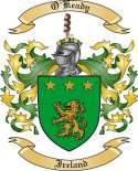 O'Keady Family Coat of Arms from Ireland