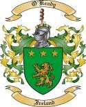 O'Keady Family Crest from Ireland