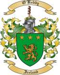 O'Keddy Family Coat of Arms from Ireland
