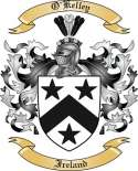 O'Kelley Family Crest from Ireland