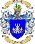 O'Kelly Family Coat of Arms from Ireland