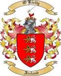 O'Kielty Family Crest from Ireland