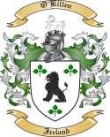 O'Killen Family Coat of Arms from Ireland