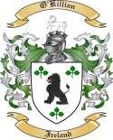 O'Killian Family Crest from Ireland