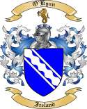 O'Kyan Family Crest from Ireland