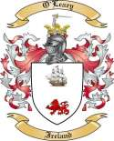 O'Leary Family Coat of Arms from Ireland