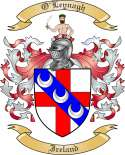 O'Leynagh Family Crest from Ireland