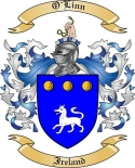 O'Linn Family Coat of Arms from Ireland